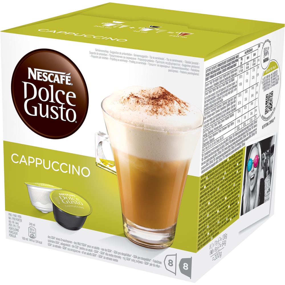 Image of KRUPS Dolce Gusto Cappuccino 16ks